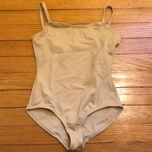 Youth Large Nude Capezio Leotard